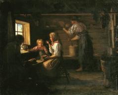 Лемох К. В. Крестьянский обед