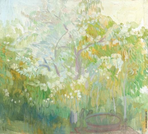 Кузнецов П. В. Цветущий сад в Бахчисарае