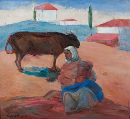 Кузнецов П. В. Женщина с быком