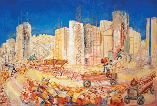 Кузнецов П. В. Строительство в Армении