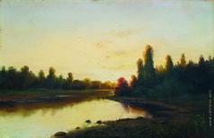 Волков Е. Е. Закат на реке