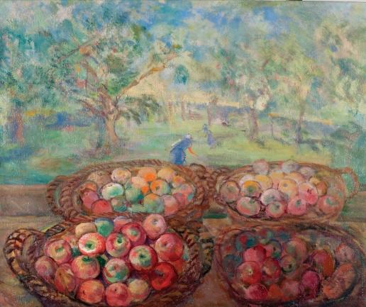 Кузнецов П. В. Корзины с яблоками