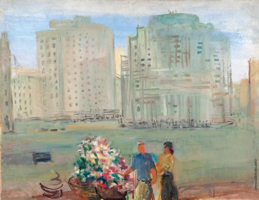 Кузнецов П. В. В центре Москвы