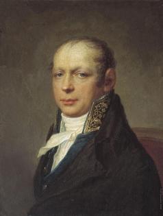 Щукин С. С. Портрет архитектора Адриана Дмитриевича Захарова