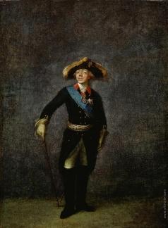 Щукин С. С. Портрет императора Павла I