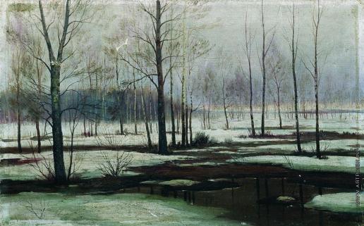 Волков Е. Е. Зимний пейзаж