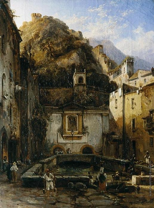 Щедрин С. Ф. Большой фонтан в Кастелламаре