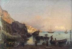 Щедрин С. Ф. Вид Амальфи близ Неаполя