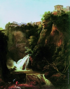 Щедрин С. Ф. Водопад в Тиволи близ Рима