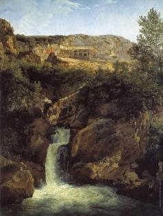 Щедрин С. Ф. Водопад в Тиволи