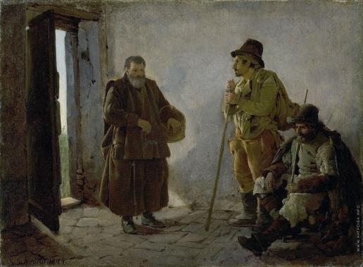 Щедрин С. Ф. Жанровая сцена. Пилигримы
