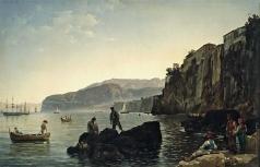 Щедрин С. Ф. Малая гавань в Сорренто