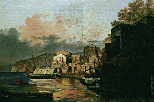 Щедрин С. Ф. Малая гавань в Сорренто. Вечер