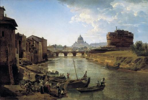Щедрин С. Ф. Новый Рим. Замок Святого Ангела