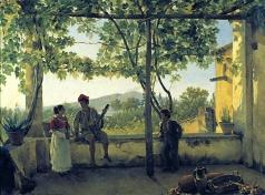 Щедрин С. Ф. Терраса в Сорренто