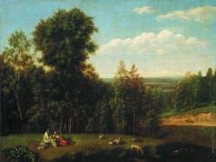 Щедрин С. Ф. Вид в окрестностях Старой Руссы