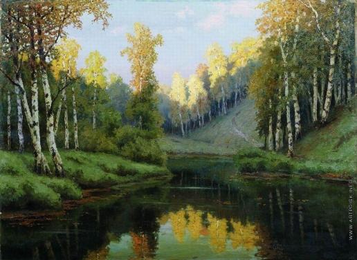 Волков Е. Е. Лесное озеро