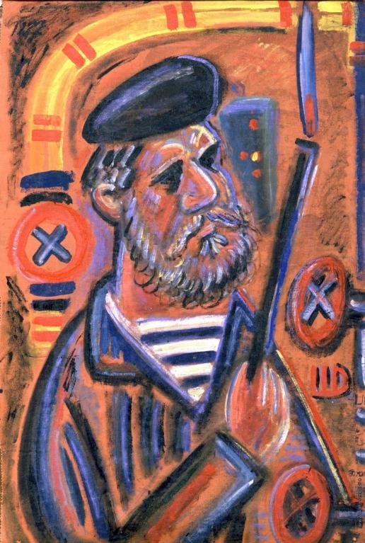 Шагин Д. В. Автопортрет в котельной