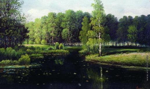 Волков Е. Е. Лесной пейзаж