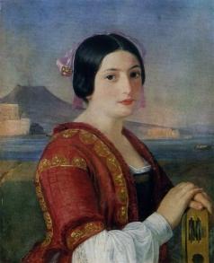 Шаповалов И. С. Портрет итальянки