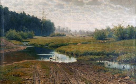 Волков Е. Е. Летний день после дождя