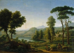 Матвеев Ф. М. Итальянский пейзаж