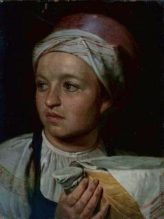 Венецианов А. Г. Девушка с подойником