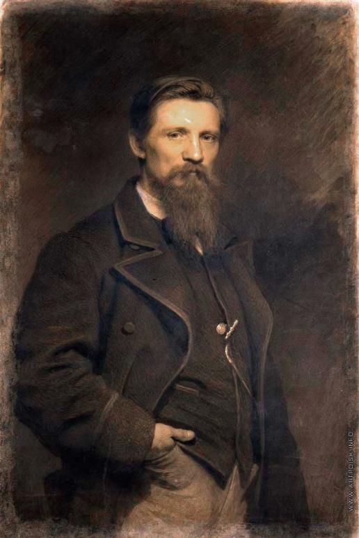 Крамской И. Н. Портрет художника К.Ф. Гуна