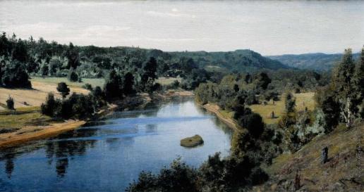 Поленов В. Д. Тарусса (Река Оять)