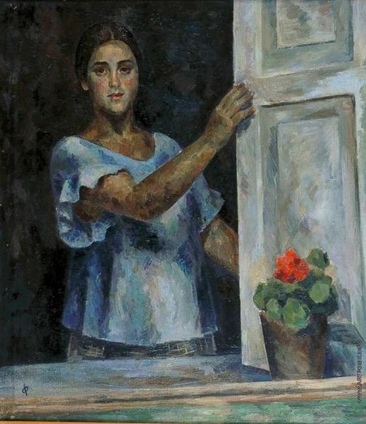 Фальк Р. Р. Девушка у окна