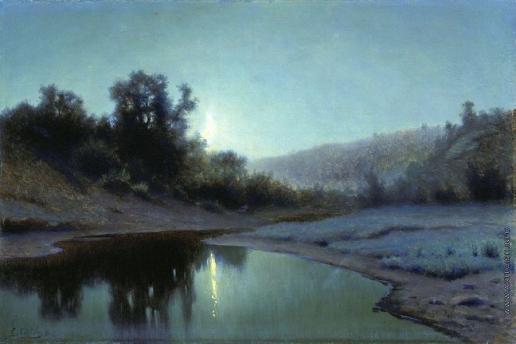 Волков Е. Е. Лунная ночь в лесу