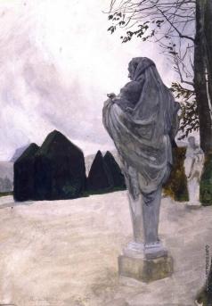 Бенуа А. Н. Перекресток философов в Версале