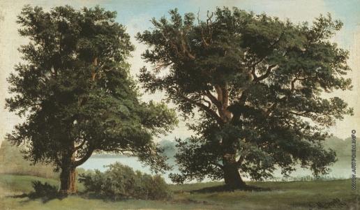 Морозов А. И. Пейзаж с деревьями