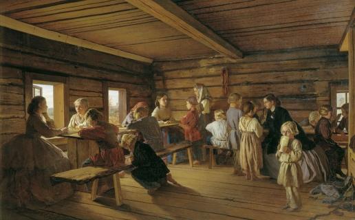 Морозов А. И. Сельская бесплатная школа