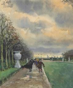 Бенуа А. Н. Променад в Версале