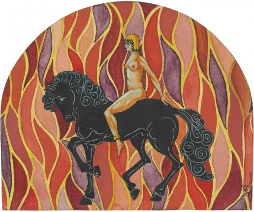 Билинский Б. К. Классическая фигура на коне