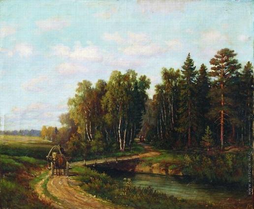 Волков Е. Е. Пейзаж