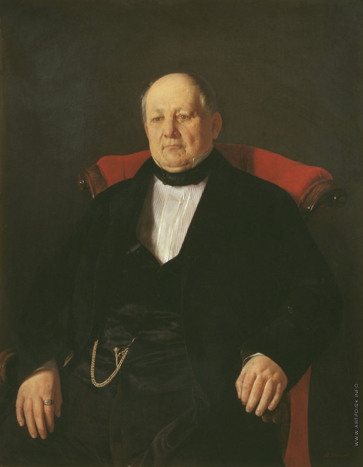 Десятов П. А. Портрет Николая Яковлевича Голяшкина