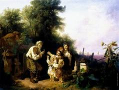 Соколов И. И. Дети на пасеке