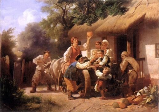 Соколов И. И. С базара