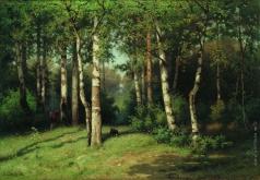Волков Е. Е. Полдень в лесу