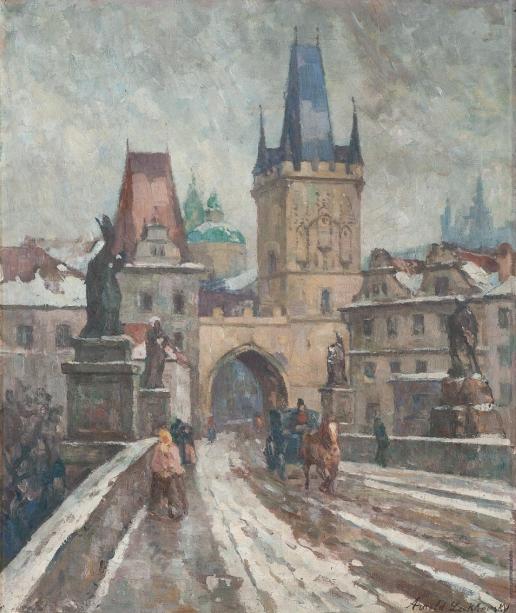 Лаховский А. Б. Карлов мост в Праге