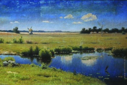 Волков Е. Е. Река на Украине