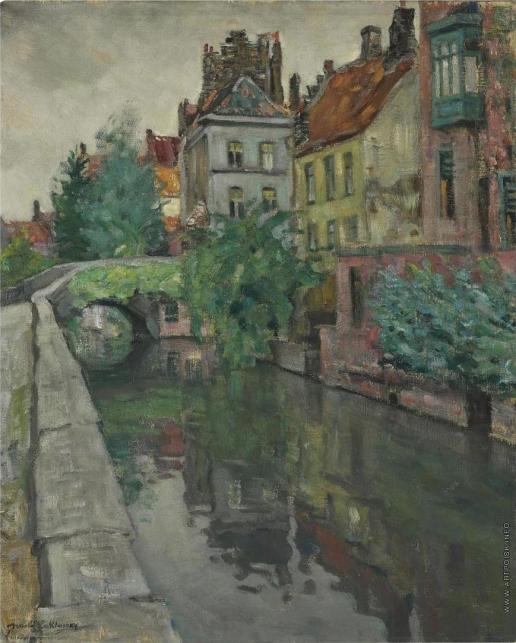 Лаховский А. Б. Дом на канале