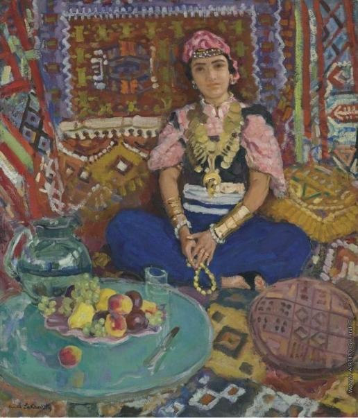 Лаховский А. Б. В турецком павильоне