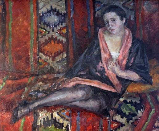 Осмеркин А. А. На диване. (Портрет Е.К. Гальпериной)