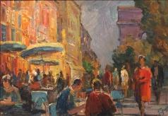Глущенко Н. П. Парижское кафе