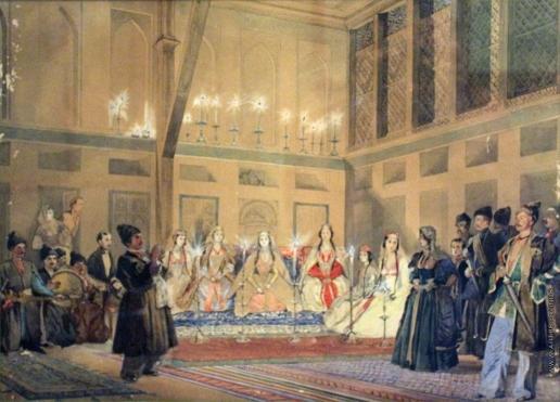 Гагарин Г. Г. Грузинская свадьба