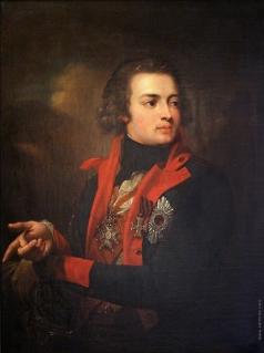 Лампи И. Б. Портрет графа В.А. Зубова