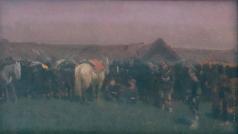 Коровин С. А. На маневрах